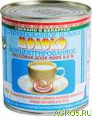Молоко концентрированное стерилизованное 8,6% Глубокое