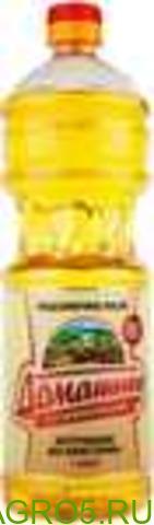 Нерафинированное подсолнечное масло высший сорт
