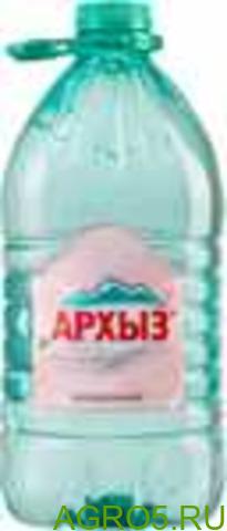 """Вода """"Архыз"""" 5л негаз ПЭТ (2) горная природная питьевая (3)"""