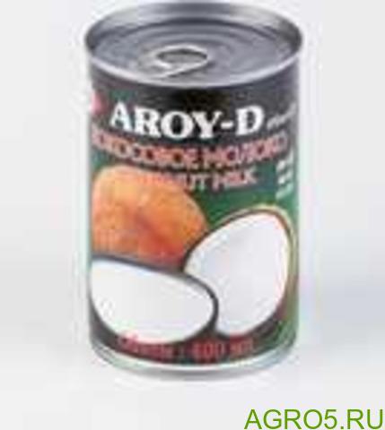 """Кокосовое молоко """"AROY-D"""" 250мл"""