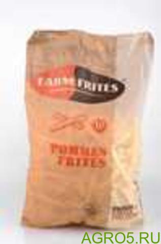 """Картофель фри """"Фарм Фритес"""" 10 мм (2,500 кг/2,520 кг)"""