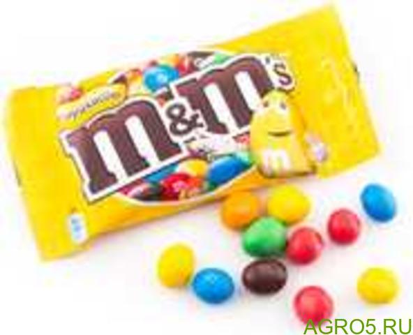 Шоколад М&М конфет