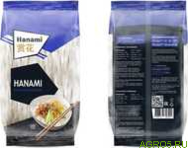 Рисовая лапша Hanami 200гр