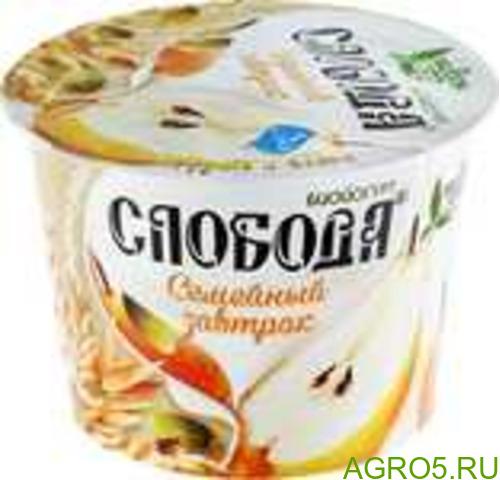 """Густой йогурт """"Слобода"""""""