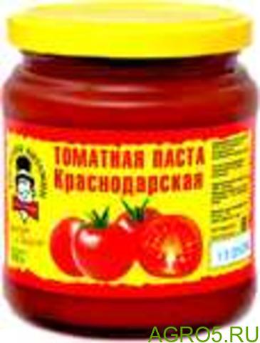 """Томатная паста собственного производства т.м. """" Господин Витамин """" 0.55 стекло"""