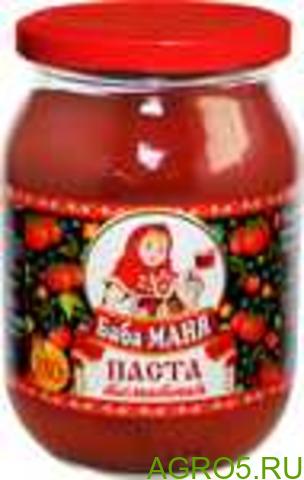 Томатная паста Баба Маня 280/12 ГОСТ 25% ст/б