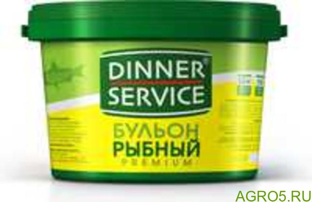 Бульон со вкусом рыбы DINNER SERVICE (2,000 кг/2,090 кг)