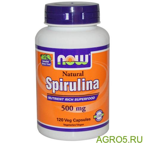 Спирулина таблетки 500 мг стерилизованные. Китай