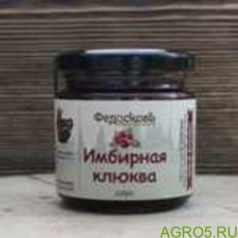 ИМБИРНАЯ КЛЮКВА соус 200 гр