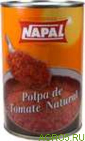 Пульпа соус Мякоть томатов (пульпа) пюре соус 4 кг ж/б