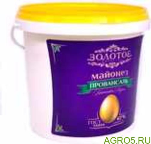 Майонез ГОСТ ведро 900гр., 5 кг., 10кг