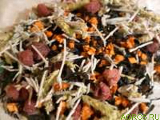 Купаж чая, Чай с ягодами, Чай с травами