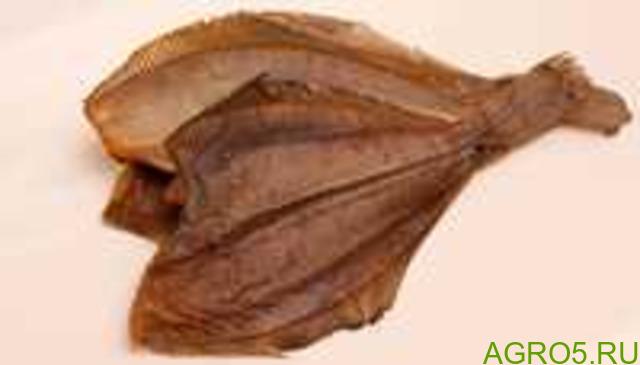 Камбала вялено-сушеная приморская