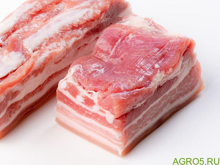 Продам мясо грудинка б/к свиная импорт, обьем 25 т