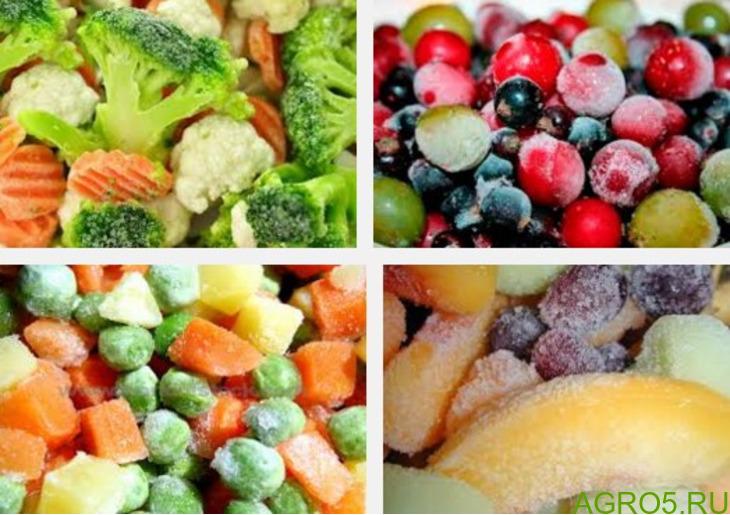 Овощи замороженные продажа